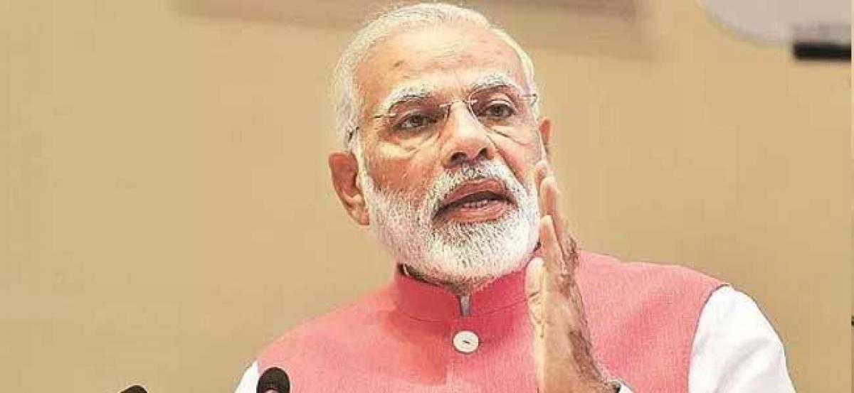I care for farmers, not chair: PM Modi