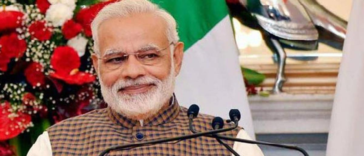 Sons of India obliterated to magnify presence of one family: Modi