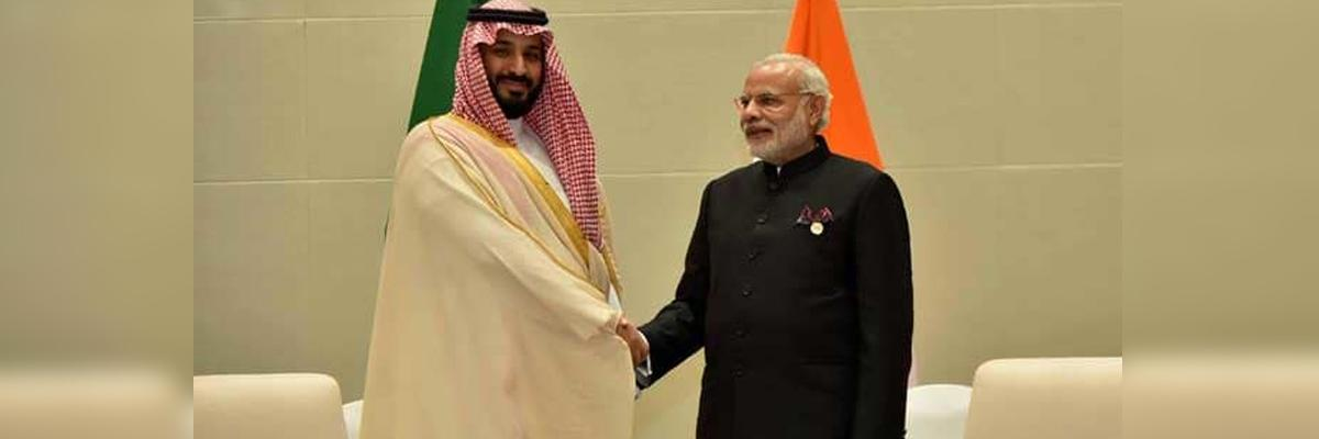 PM Modi meets Saudi Crown Prince Mohammed bin Salman at G20 summit