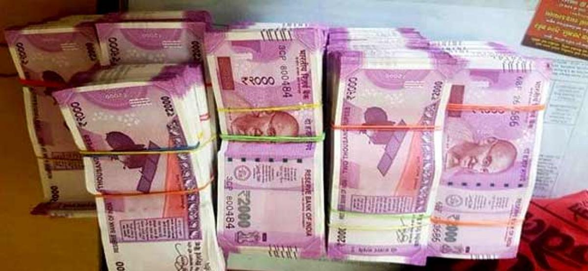 Vijayawada: Rs 30 lakh found in RTC bus, 2 held