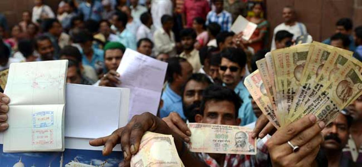 Experts say demonetisation has failed in its objective