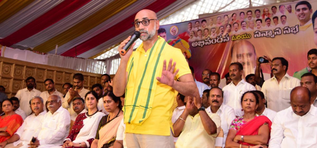 BJP in fear of anti-establishment vote in three States: Jayadev