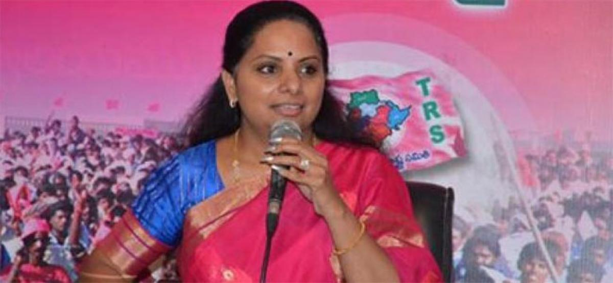 Four parties alliance ridiculous: Kavitha
