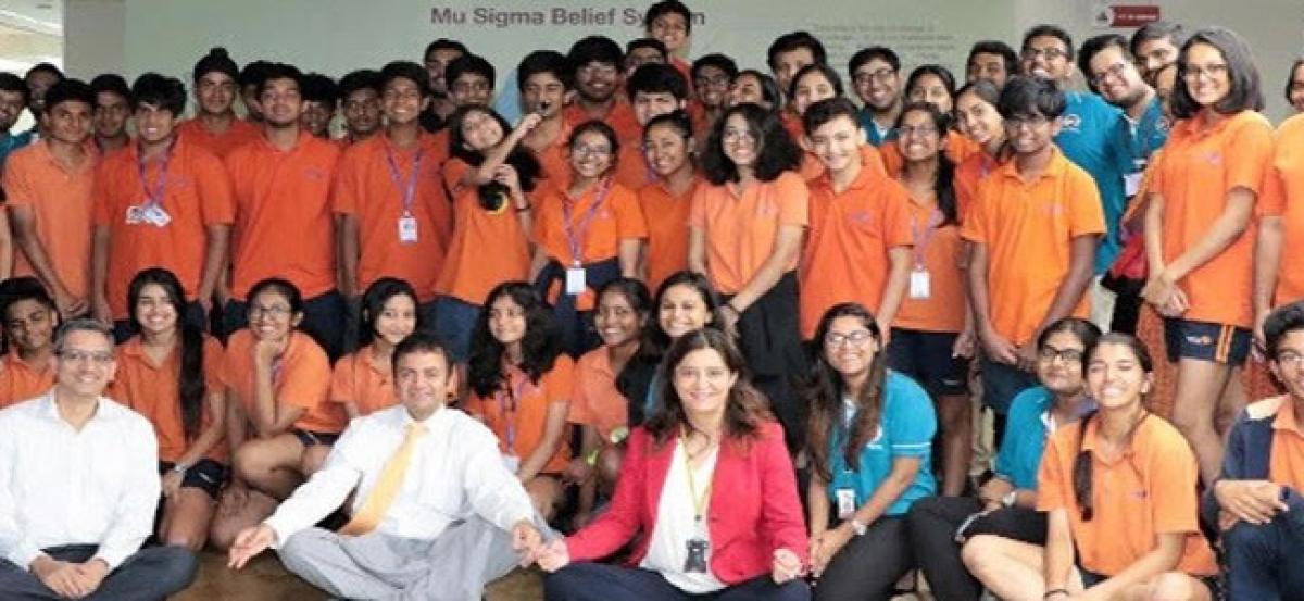 muPathshala, Mu Sigmas first innovation center in India opens in Inventure Academy