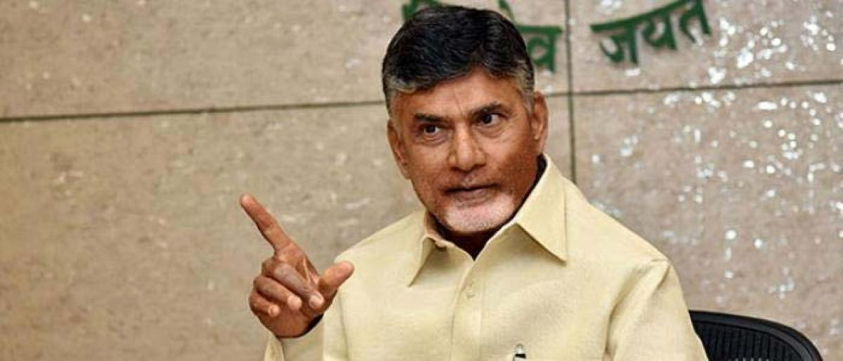 CM Naidu reviews law and situation from New York