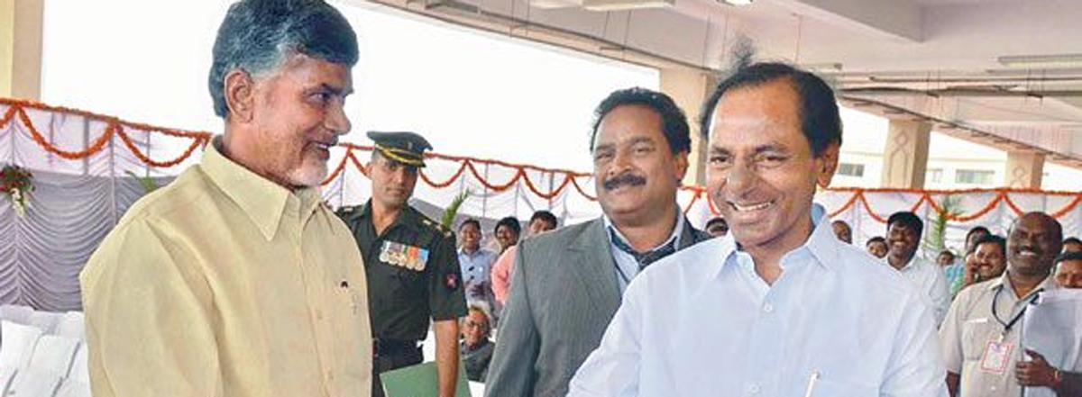 KCR, Chandrababu Naidu set the agenda for 2019 polls