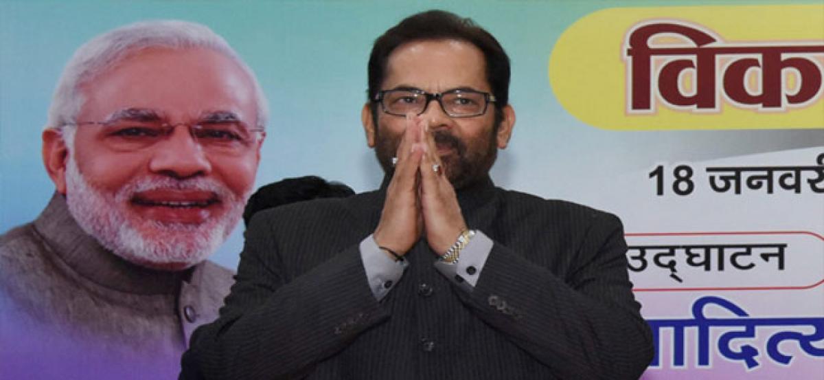 BJP govt has ended appeasement, vote bank politics: Mukhtar Abbas Naqvi