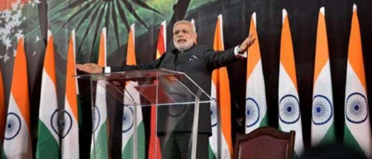 Modi dedicates UN Champions of the Earth award to nation