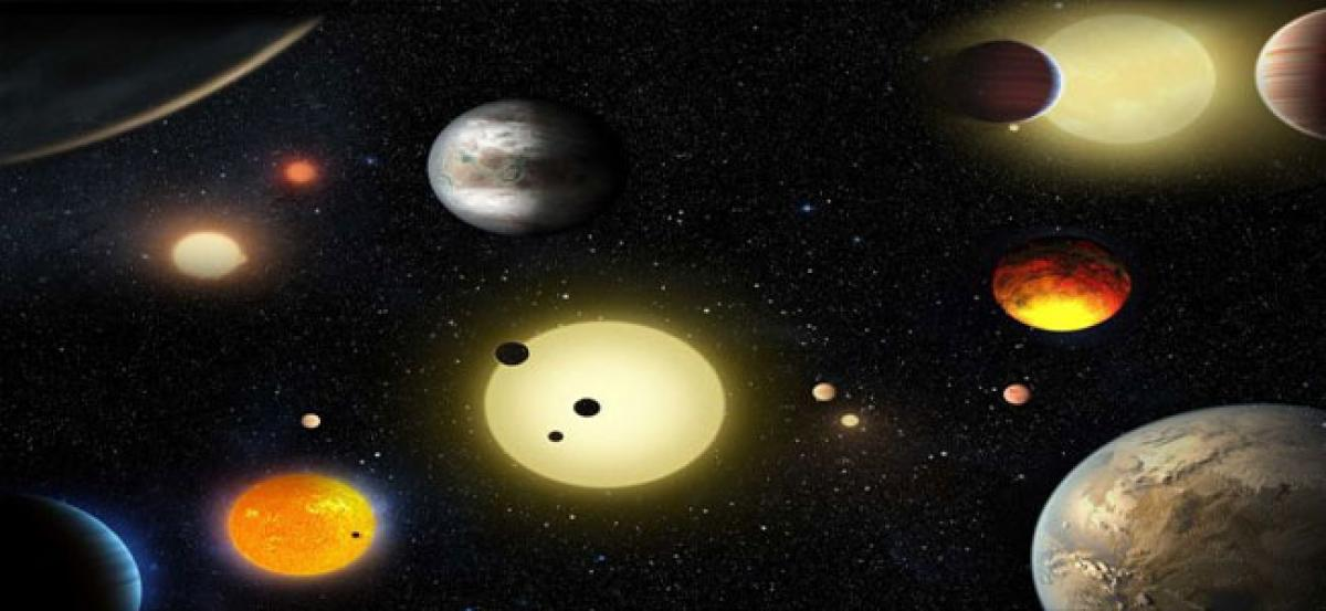 Water-rich planets outside our solar system common