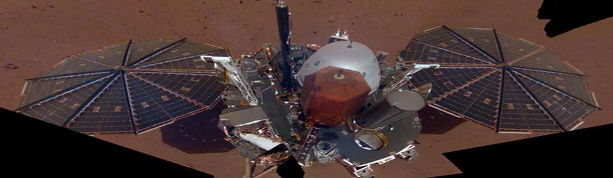 NASAs InSight sends back first selfie on Mars
