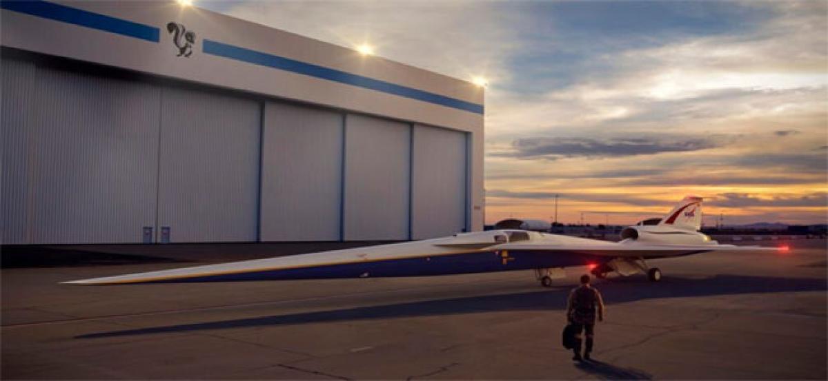 NASA to test 'quiet' supersonic flights