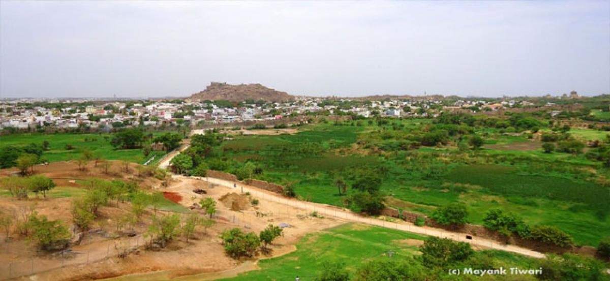 Changing landscapes of Hyderabad