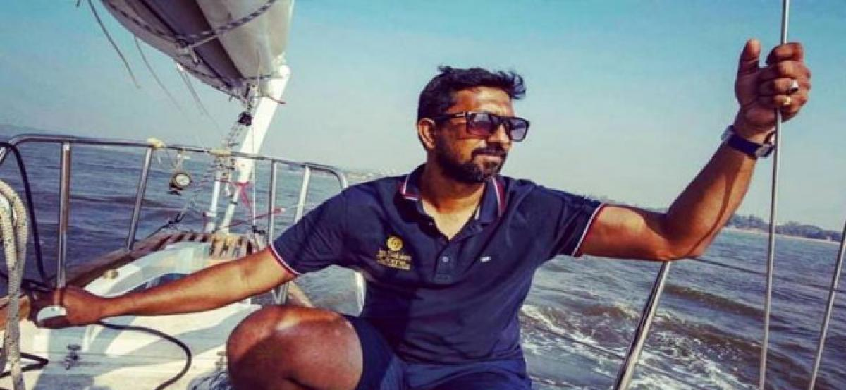 Indian Naval officer all set to sail non-stop, solo for 2018 Golden Globe Race