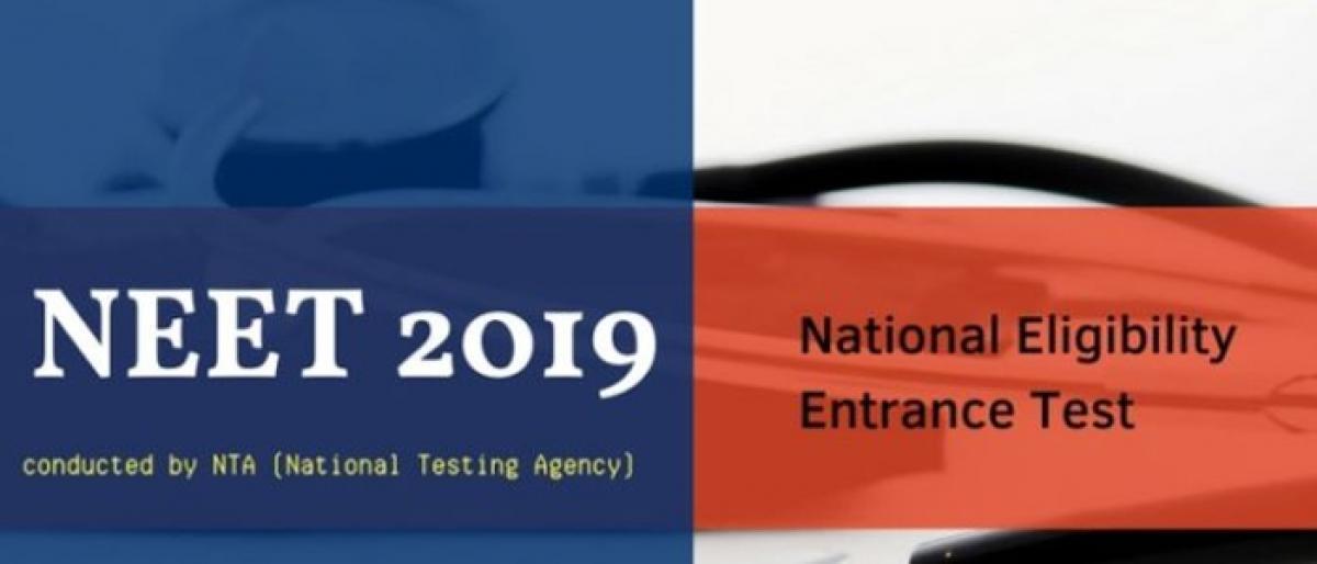 Registrations for NEET 2019 begin, exam on May 5