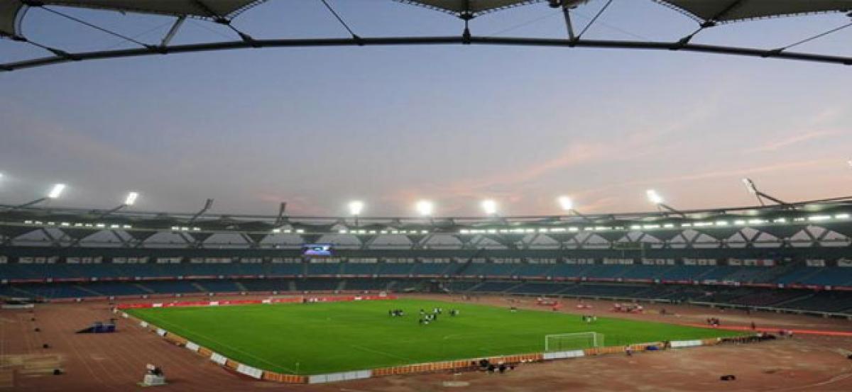 Nehru Stadium pitch handed over to FIFA