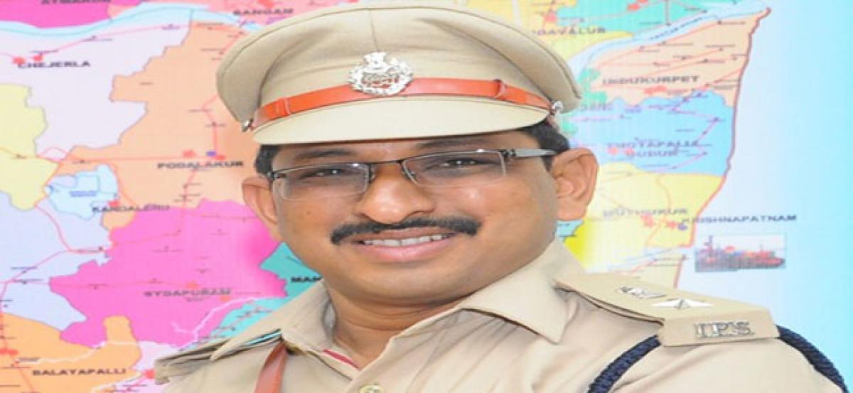 Stern action against land, sand mafia: SP PHD Ramakrishna