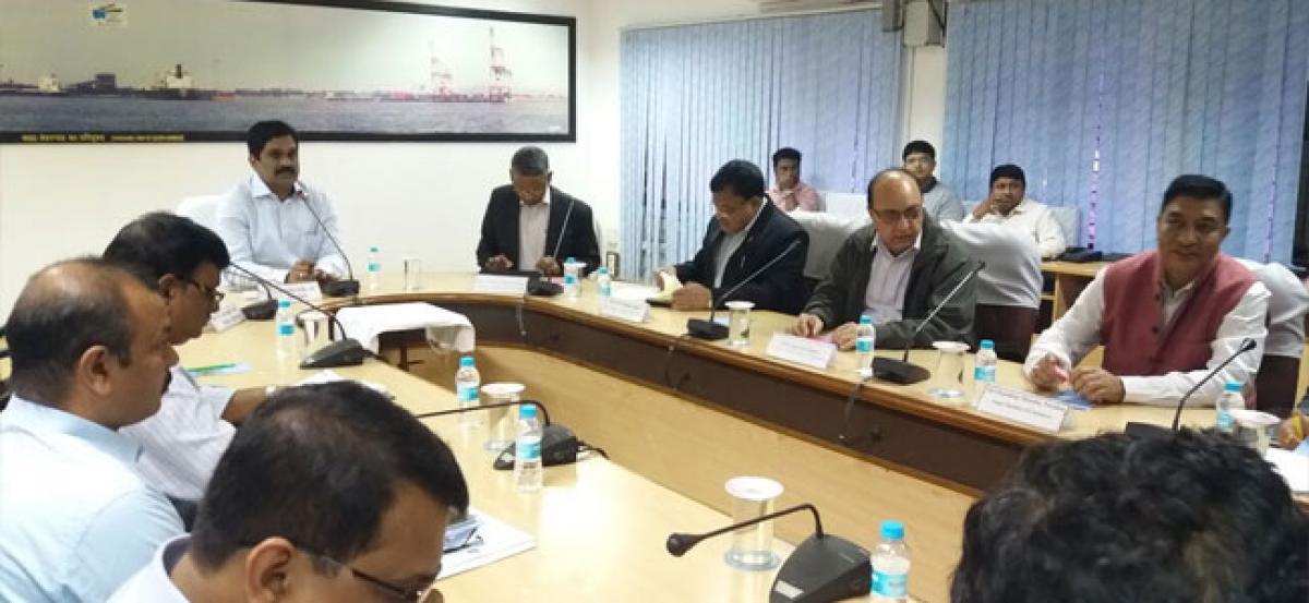 Nepal team visits Visakhapatnam Port Trust