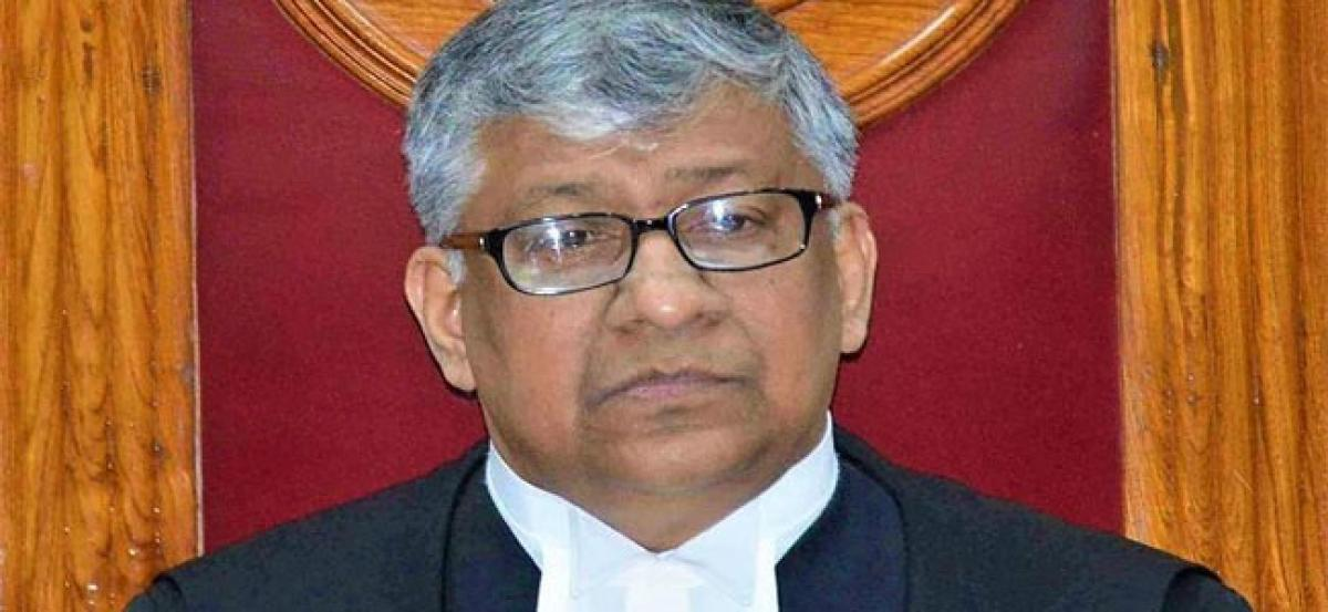 New Chief Justice of Hyderabad High Court to assume charge