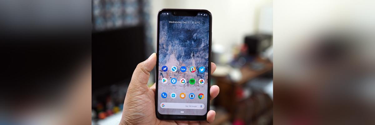 Nokia unveils 8.1 with PureDisplay screen technology