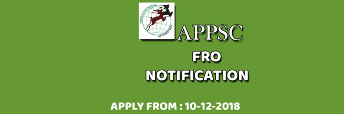 Notification To Fill Forest Range Officers Issued In AP