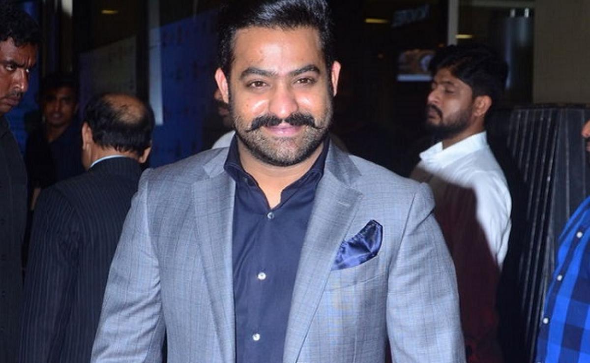 Jr.NTR celebrates son Abhay Ram's birthday on Bigg Boss Telugu sets