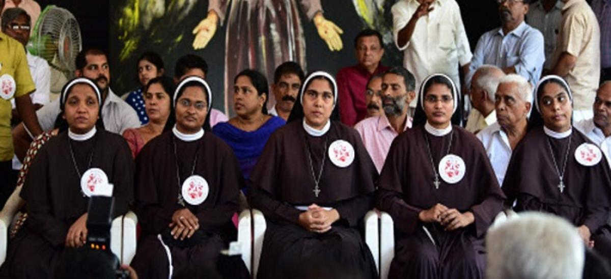 Nuns declare that Parish priest tried to manipulate them