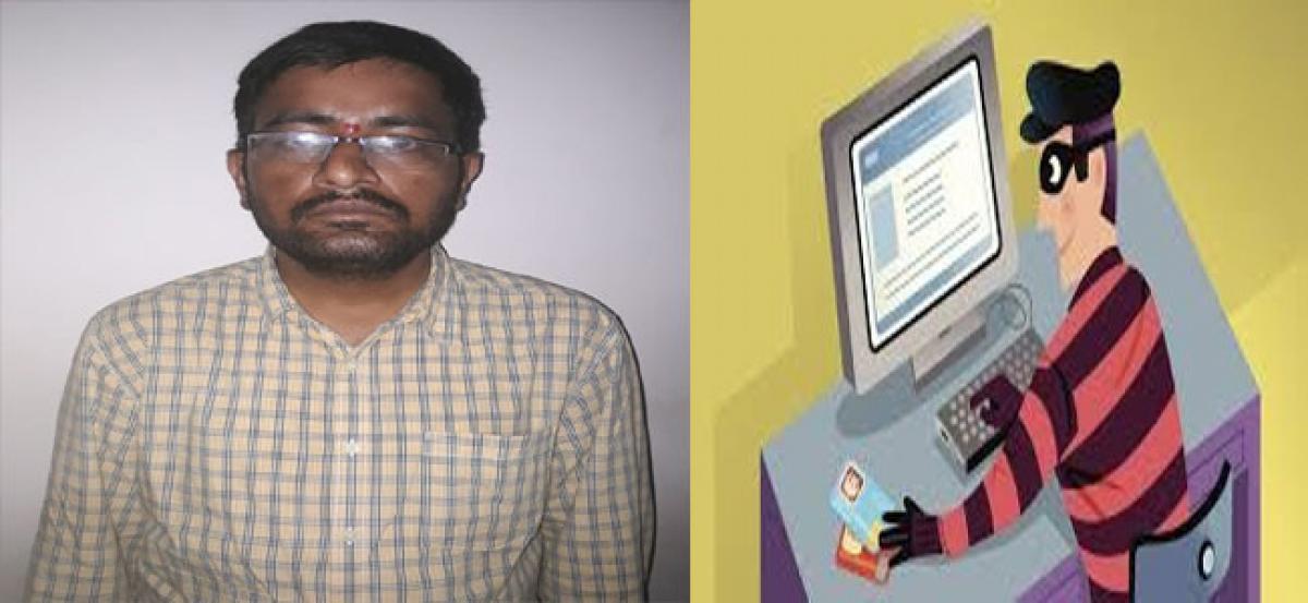 Man arrested for online fraud