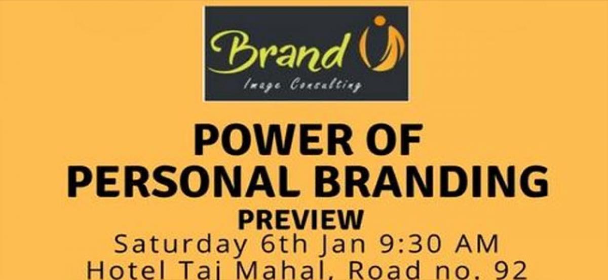 Seminar on Power of Personal Branding on Saturday