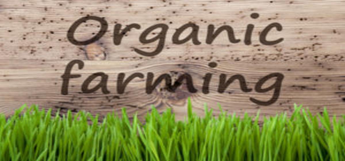 Organic farming advocated