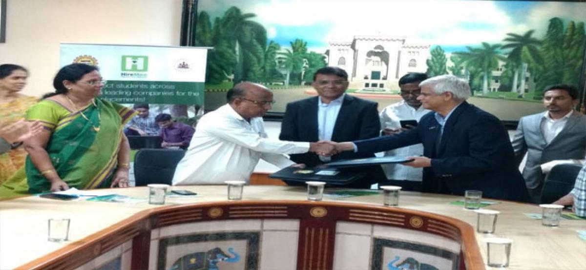 Osmania University's new initiative to enhance employability