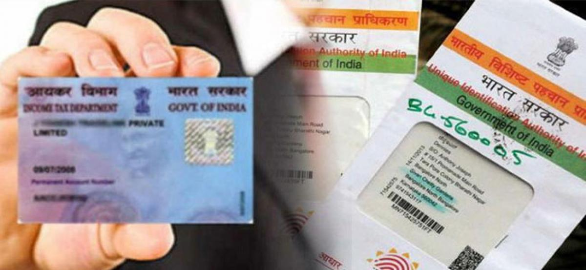 I-T dept launches 'instant' Aadhaar-based PAN allotment service for limited period