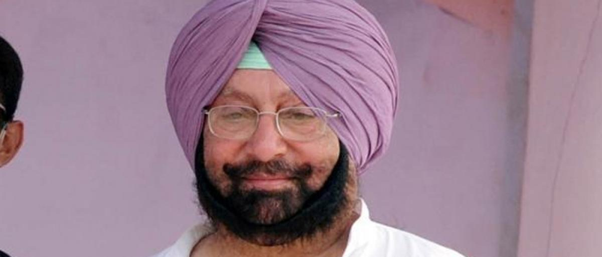 Punjab CM Amarinder Singh seeks compensation to check stubble burning