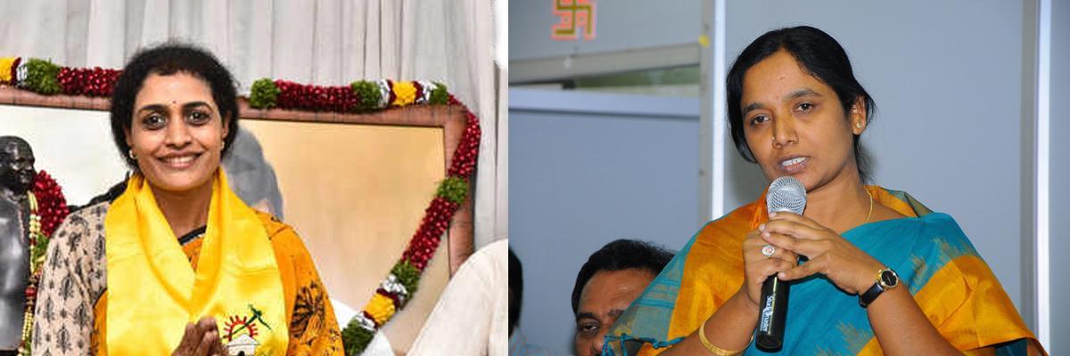 Paritala Sunitha to campaign for Nandamuri Suhasini