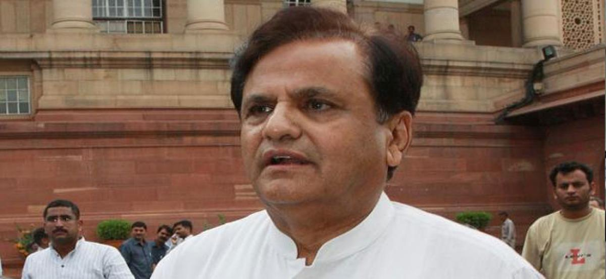 SC to hear Ahmed Patels plea challenging petition against his RS election
