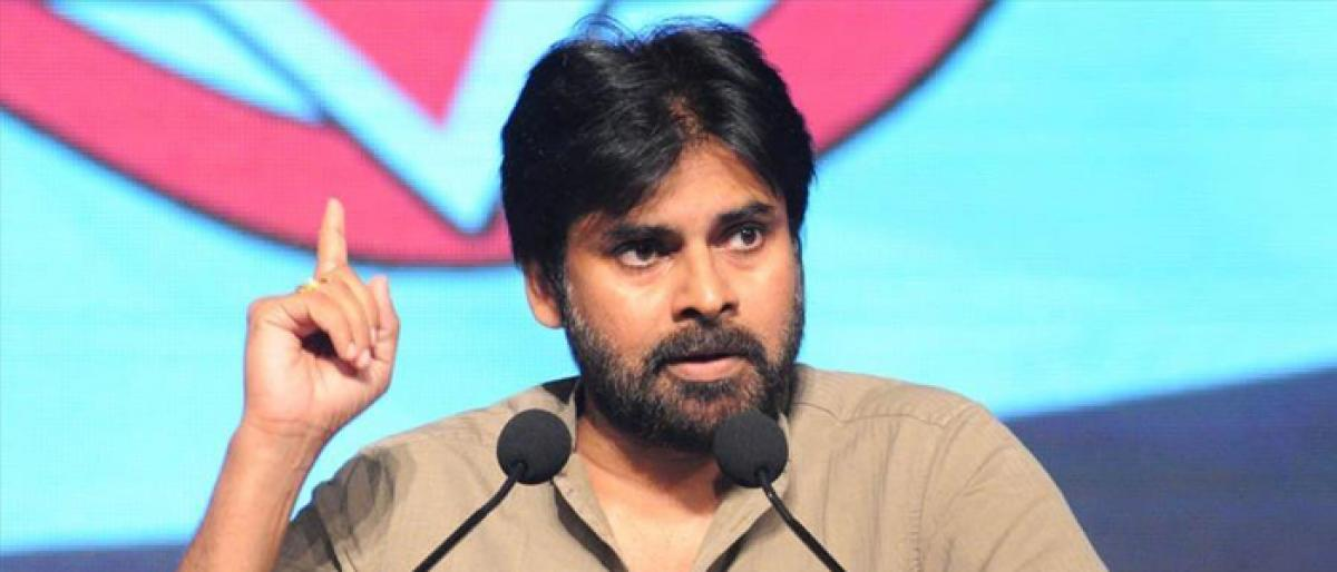 Pawan Makes Shocking Comments On TDP - Cong Alliance