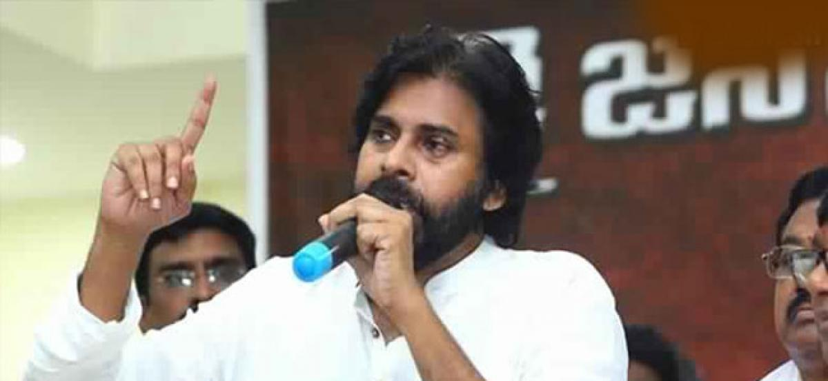 Pawan Kalyan Demands Jobs, Opposes Unemployment Dole