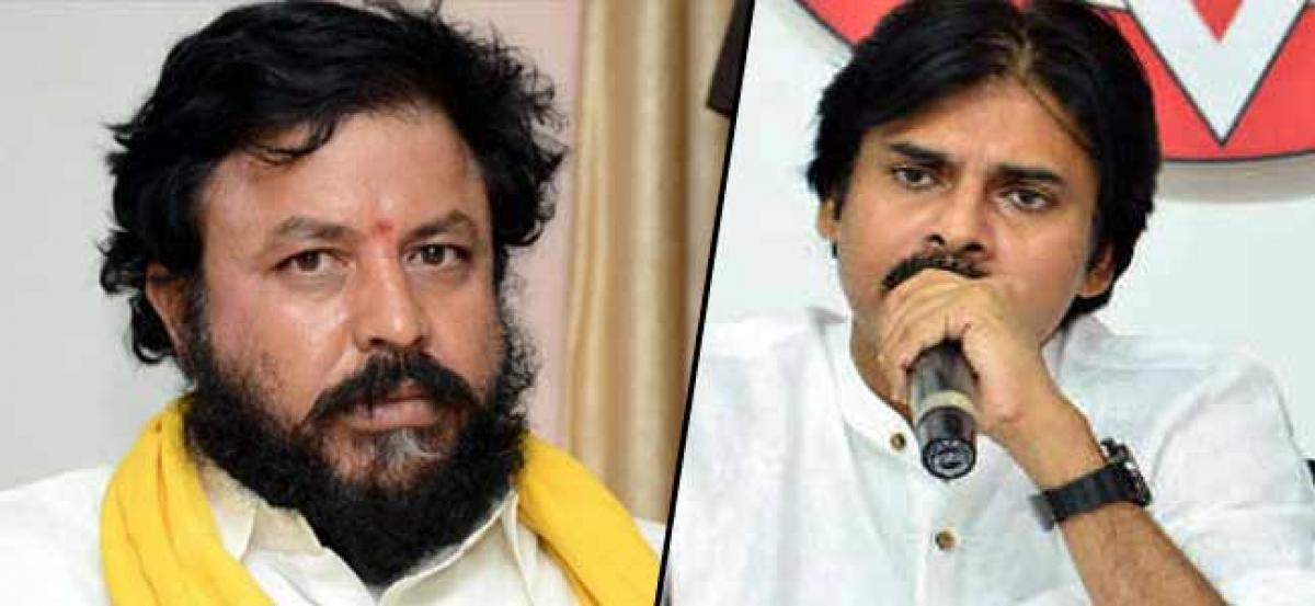 Pawan Kalyan To Field Woman MRO Against Chintamaneni?
