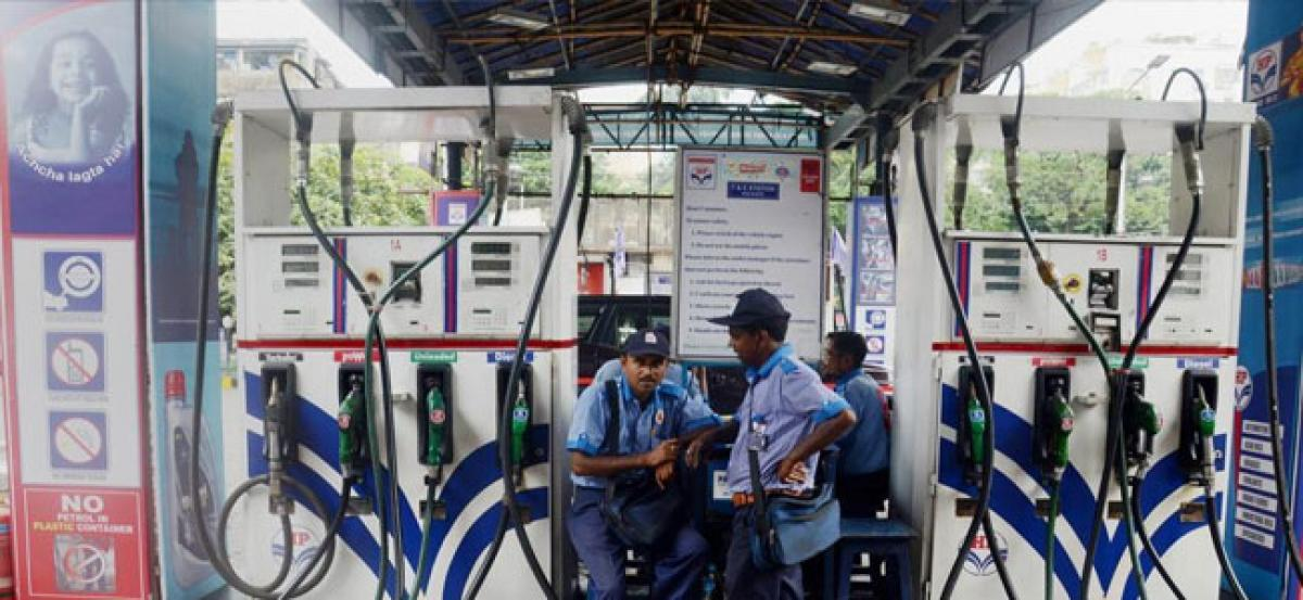 Petrol price cut by 6 paise across metros, at Rs 78.29 a litre in Delhi