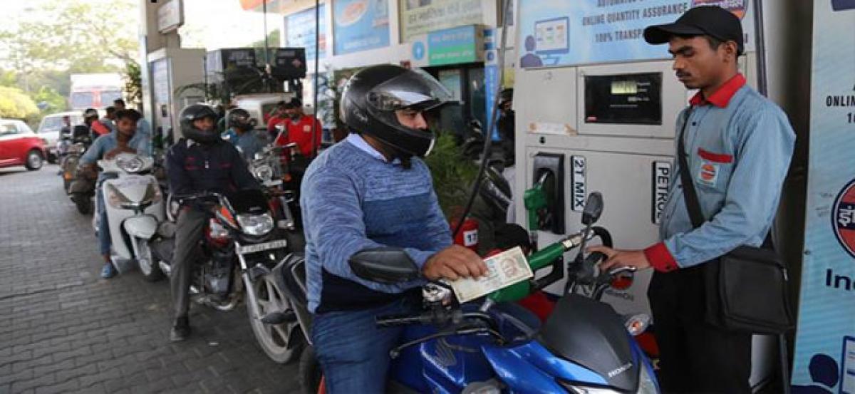 Petrol price hits 4-yr high, diesel at highest level