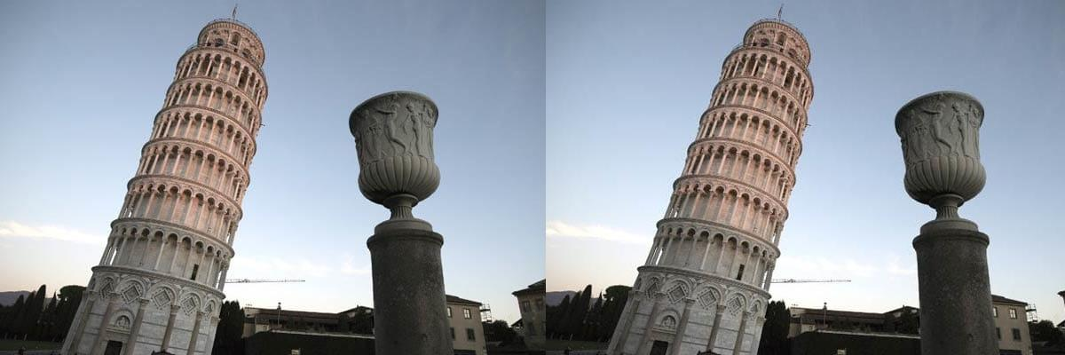 Leaning Tower of Pisa begins to straighten