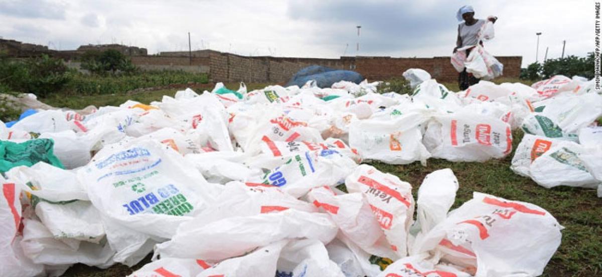 Social worker seeks ban on plastic bags