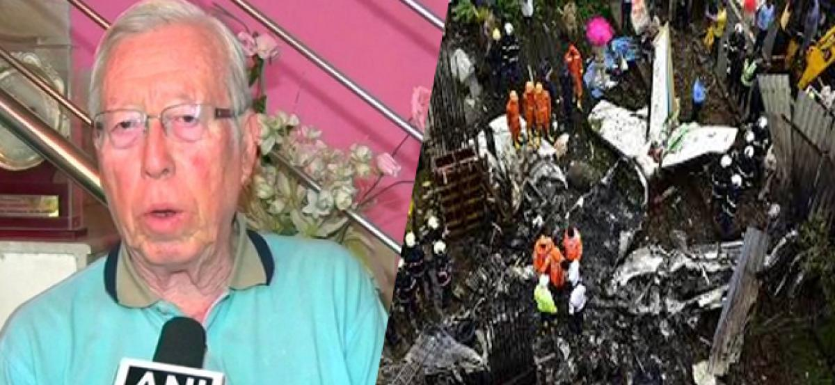 Mumbai plane crash: Maintenance company denies glitch in aircraft