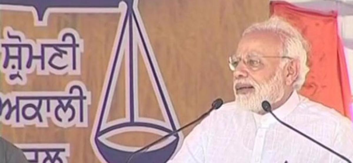 Congress used farmers as vote bank, betrayed, lied to them: PM Modi