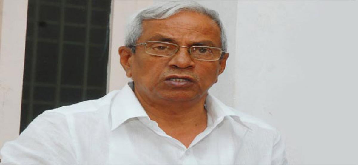 Donate Rupees 10L to Dalit families in Garagaparru demands P Madhu