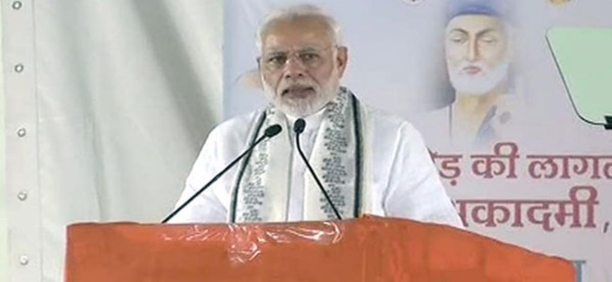 Greed for power united imposers and critics of Emergency: PM Modi