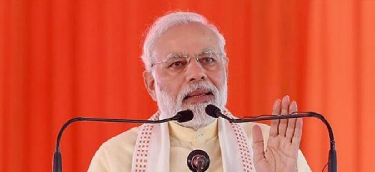 Modi peddler of untruths, Cong seeks apology for Muslim men remark