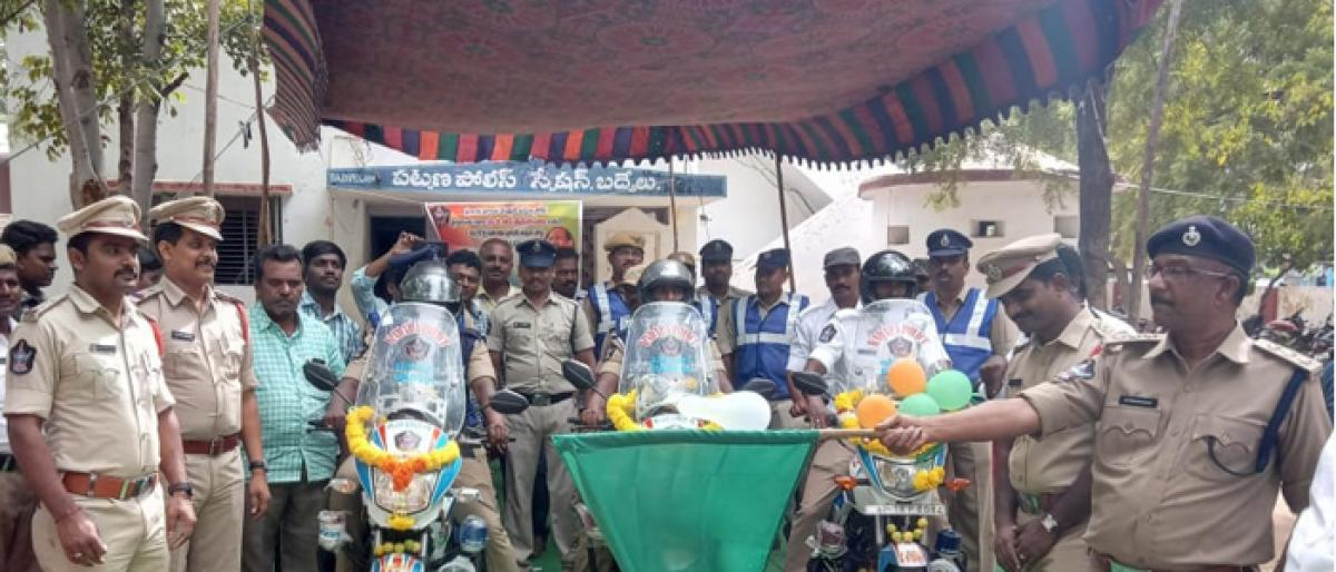 Traffic out post police station inaugurated