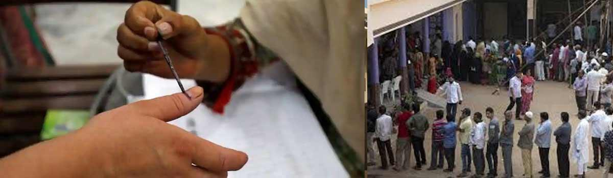 Telangana Assembly Elections 2018:Official attacked at polling booth for casting disabled persons vote in Huzurnagar