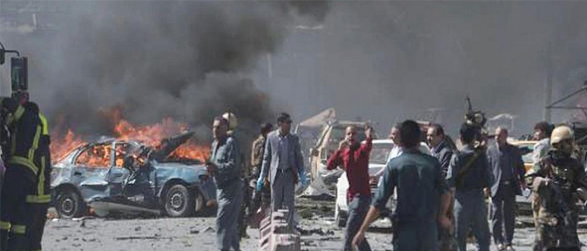Poll candidate killed in Afghan blast