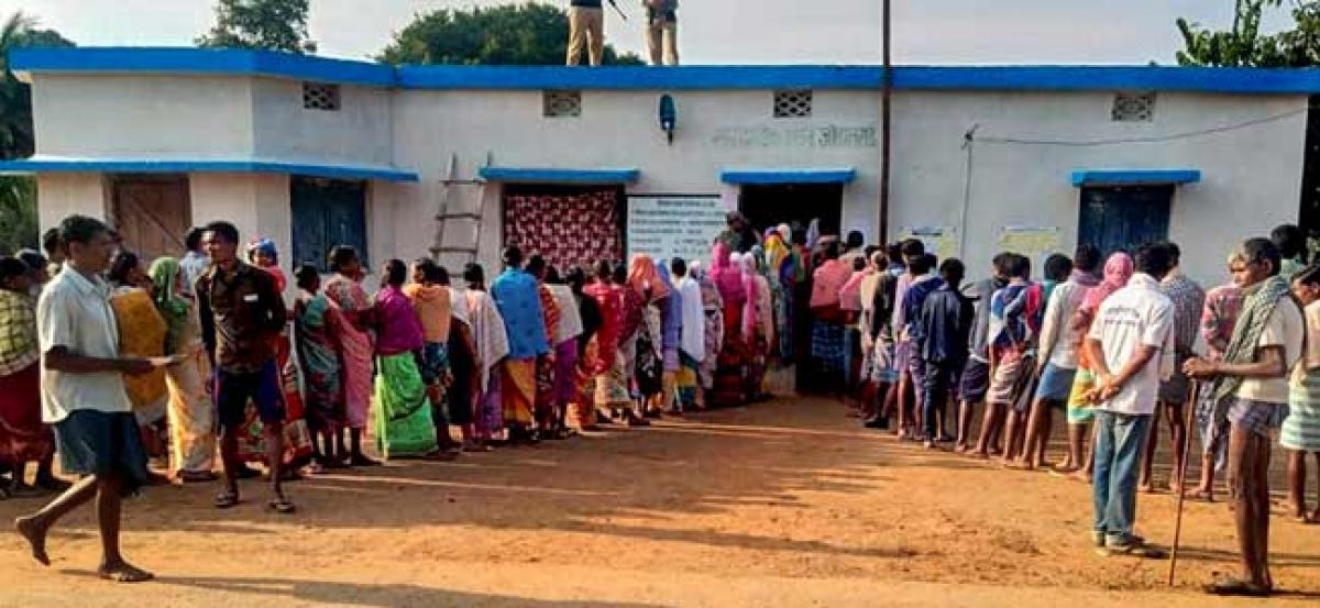 Chhattisgarh Assembly Elections 2018 Phase 1: Nearly 23% voters turnout till 12 PM